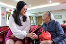 2020年10月13日重阳节走进南庄颐老院开展慰问活动