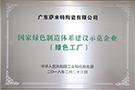 国家绿色制造体系建设示范企业(绿色工厂)——禄步园区