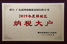 2019年禅城区纳税大户